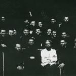 Oscar Marziali con capuchinos