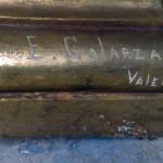 Firma de Enrique Galarza